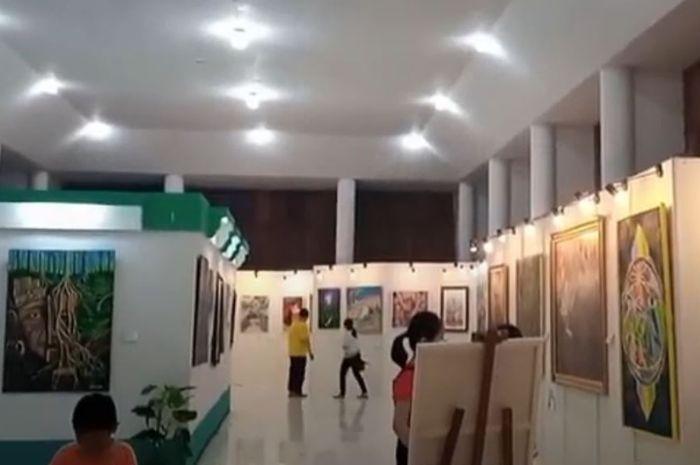 Pameran Seni Rupa Pamerkan 52 Karya Seni Lukis Seniman Kalimantan Barat