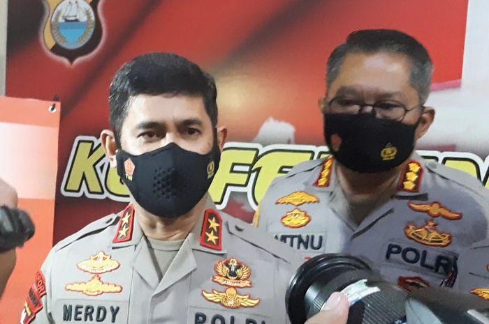 Kapolda Sulsel, Irjen Pol Merdisyam dalam momen peluncuran SIM Online di Makassar