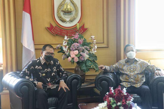 Kunjungan kerja Mendagri Tito Karnavian di Balaikota Makassar