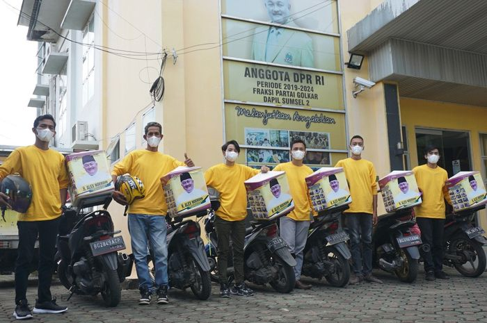 Alex Noerdin Kembali Gulirkan Paket Bantuan Ramadhan