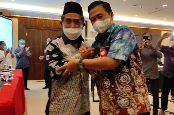 Ibnu Sina - Arifin Noor usai mendengarkan putusan MK