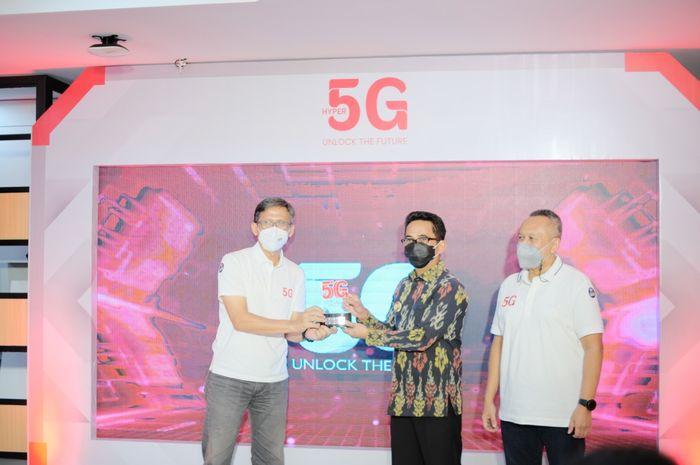 Telkomsel launching jaringan 5G di Balikpapan