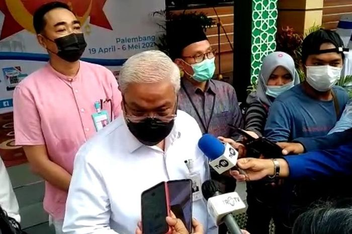 Direktur Utama Bank Sumsel Babel Ahmad Syamsuddin