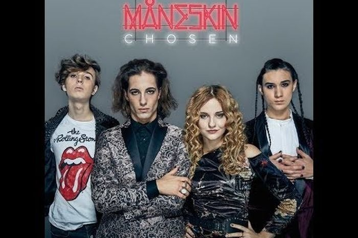 Grup band Maneskin.