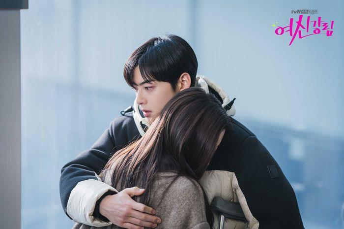 Ilustrasi terpuruk (Drama Korea True Beauty)