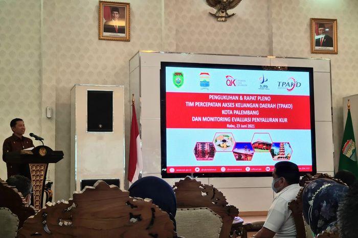 Berdayakan UMKM Melalui Program Kredit, Pemkot Palembang Bentuk Tim Percepatan Akses Keuangan Daerah