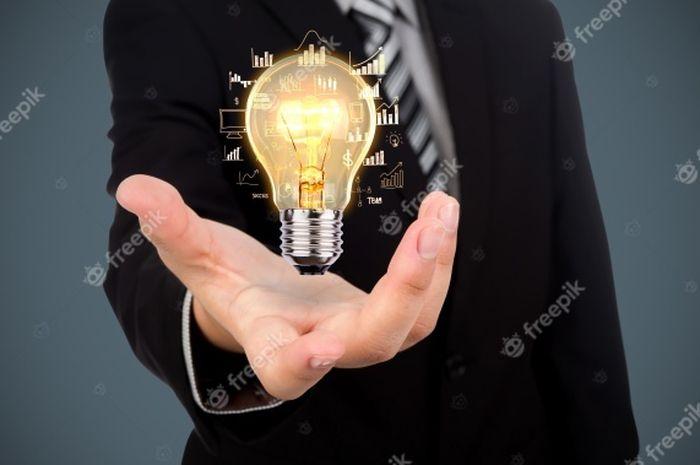 Illustrasi cerdas, cakap dan banyak ide