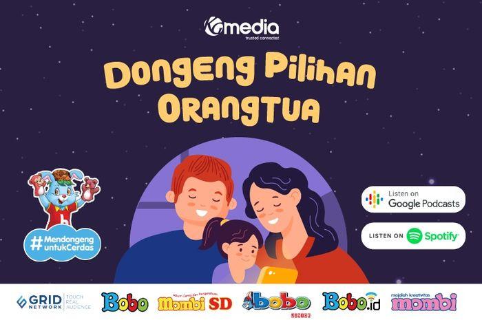 KG Media Luncurkan Podcast 'Dongeng Pilihan Orangtua'