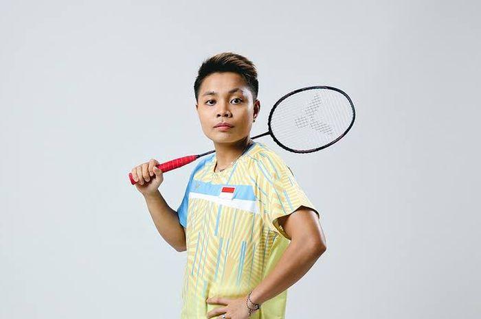 Atlet bulu tangkis ganda putri Apriyani Rahayu