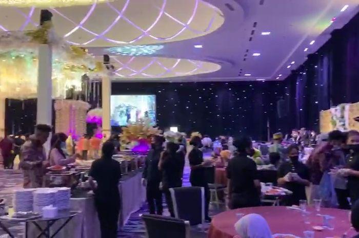 Temuan Satgas Raika Makassar di gedung UpperHills, Hajatan Abaikan Prokes