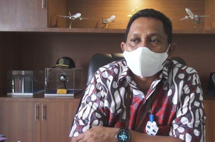 GM Angkasa Pura 1 Bandara  Sam Ratulangi Manado MInggus Gandeguai