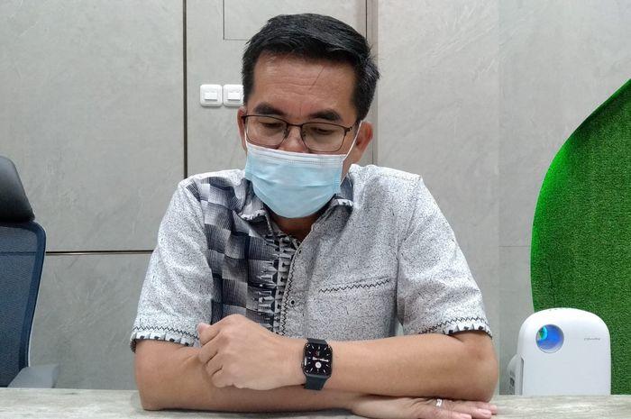 Deputi Direktur BPJS Ketenagakerjaan Wilayah Sumbagsel, Surya Rizal ketika dijumpai, Rabu (15/09).