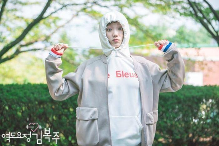 Ilustrasi drama Korea Weightlifting Fairy Kim Bok Joo