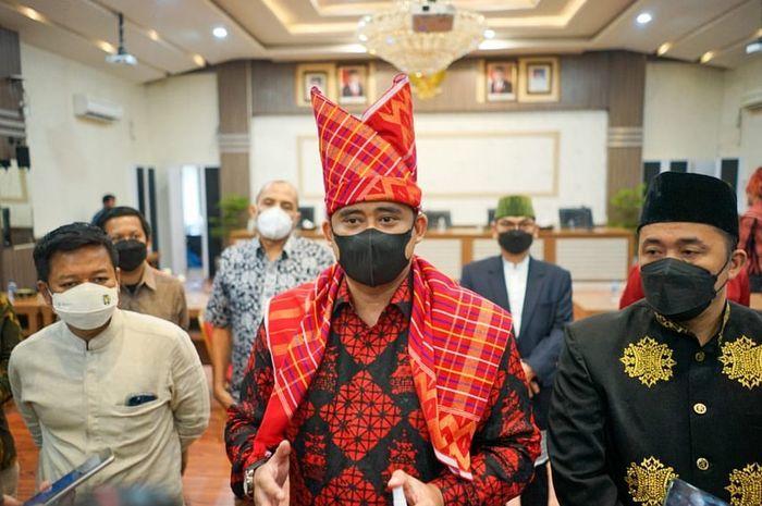 Walikota Medan, Bobby Nasution usai pengumuman Direksi PUD kota Medan-Instagram Bobby