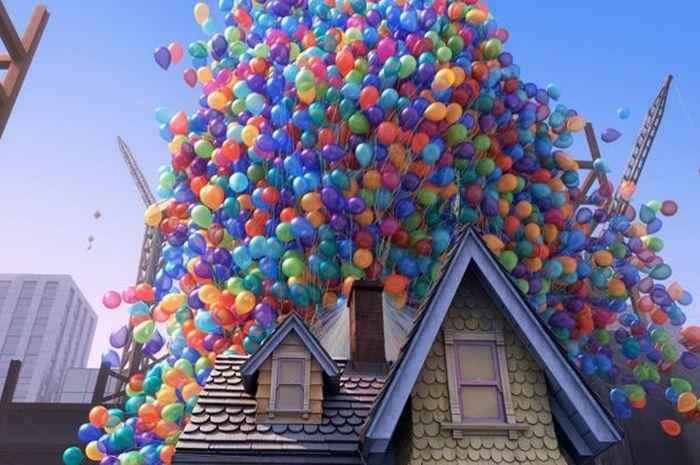 Rumah Karl di film animasi Up