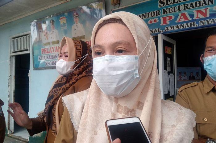 Kepala Bidang Kesehatan Masyarakat Dinkes Palembang, Mirza Susanty