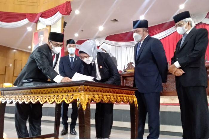 Pada hari ini, Selasa (21/09) DPRD Provinsi Sumatera Selatan menggelar Rapat Paripurna ke-36