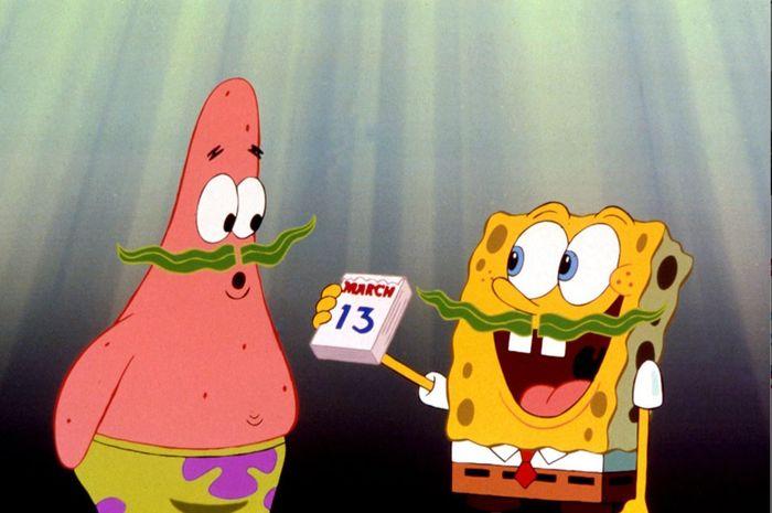 Patrick Star dan Spongebob