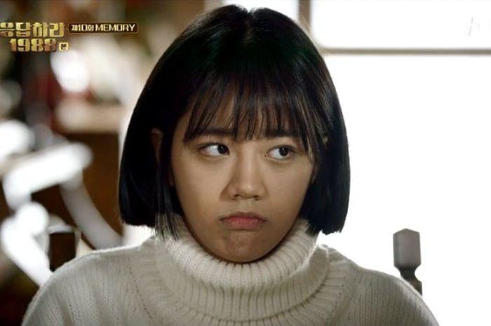 Hyeri dalam drama Korea Reply 1988