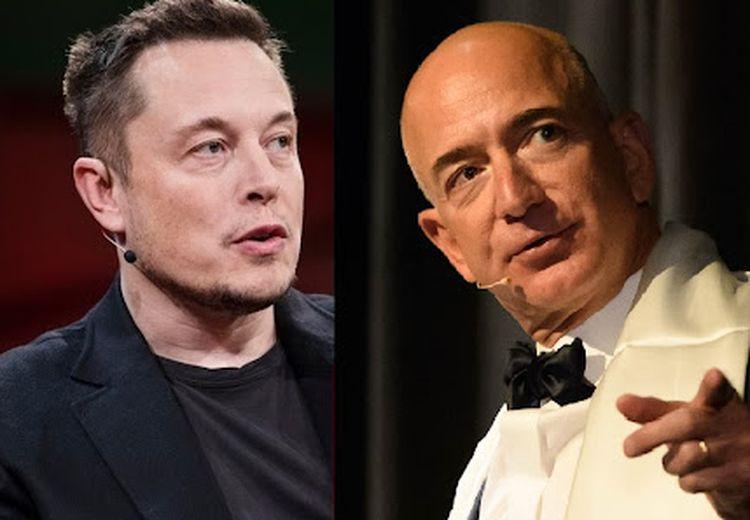 Elon Musk Mengejek Jeff Bezos yang Ingin Mengembangkan Teknologi 'Anti-Penuaan'