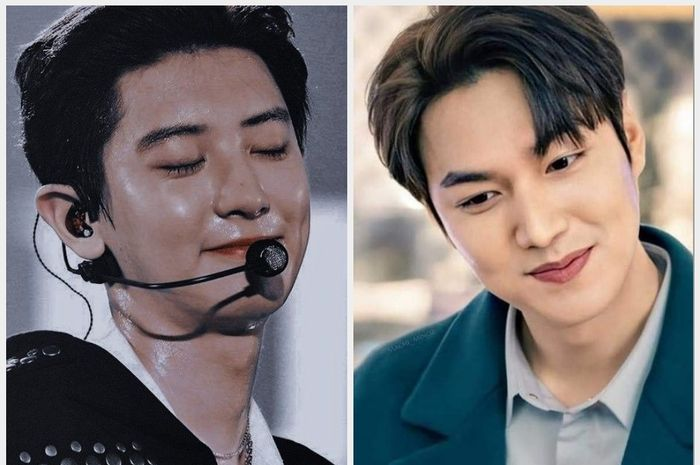 Chanyeol dan Lee Min Ho