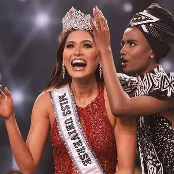 Sabet Gelar Miss Universe, Ini Profil Andrea Meza yang Lulusan Software Engineering