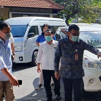 Sekda Rai Iswara Sidak Kesiapan Satgas Covid-19  di Lingkungan Pemkot Denpasar