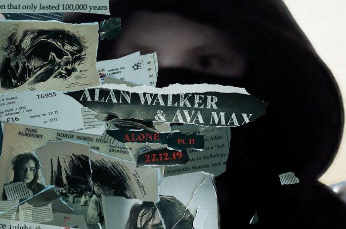 Lirik lagu 'Alone, Pt. II' milik Alan Walker dan Ava Max
