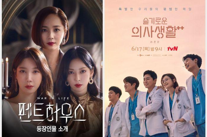 Drama Korea 'Penthouse 3' dan'Hospital Playlist 2'