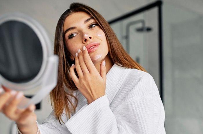 Ilustrasi Kenakan Skincare