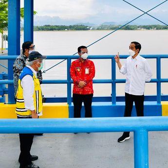 Jokowi Harap Kolam Regulasi Nipa-nipa Jadi Solusi Banjir Makassar
