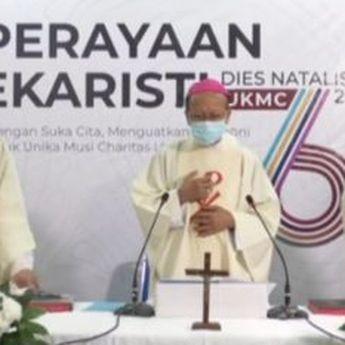 Perayaan Ekaristi Dies Natalis ke-6 Unika Musi Charitas, Uskup Berharap...