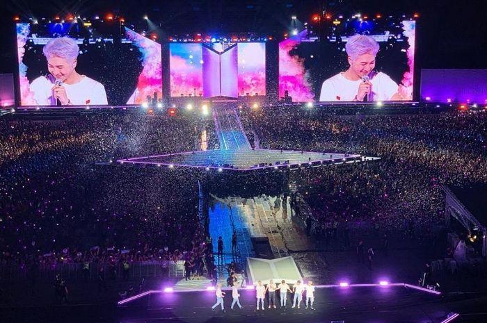 Konser BTS saat di Thailand