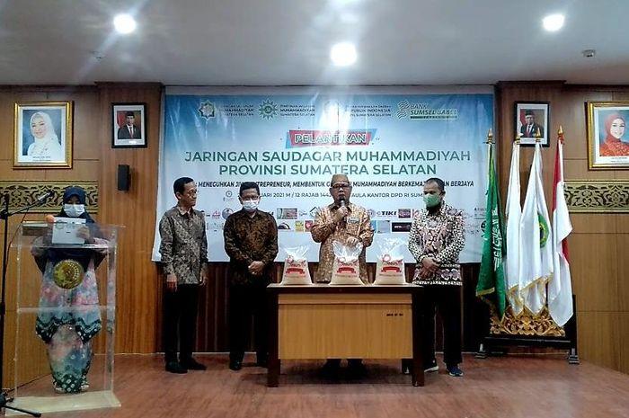 Pengurus Jaringan Saudagar Muhammadiyah (JSM) Provinsi Sumatera Selatan masa bhakti 2021-2026 secara resmi dilantik.