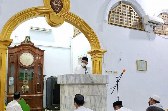 Wali Kota Makassar, Danny Pomanto isi ceramah tarwih di masjid Nur Al-Aqsa
