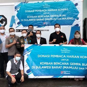 Donasi Pembaca Harian Kompas Untuk Korban Gempa Bumi di Sulawesi Barat