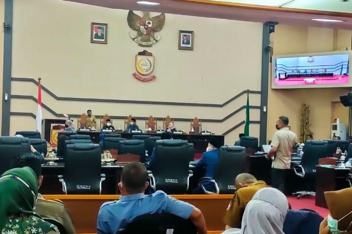 Rapat paripurna penetapan perubahan status jadi Perumda Parkir Makassar