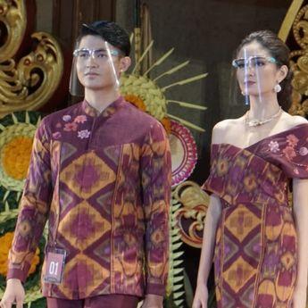 Tenun Ikat Endek, Bawa Kota Denpasar Raih Juara 1 Lomba Peragaan Busana PKB XLIII