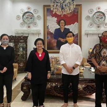 Gibran Berkunjung ke Rumah Megawati, Bahas Konsolidasi Pilkada?